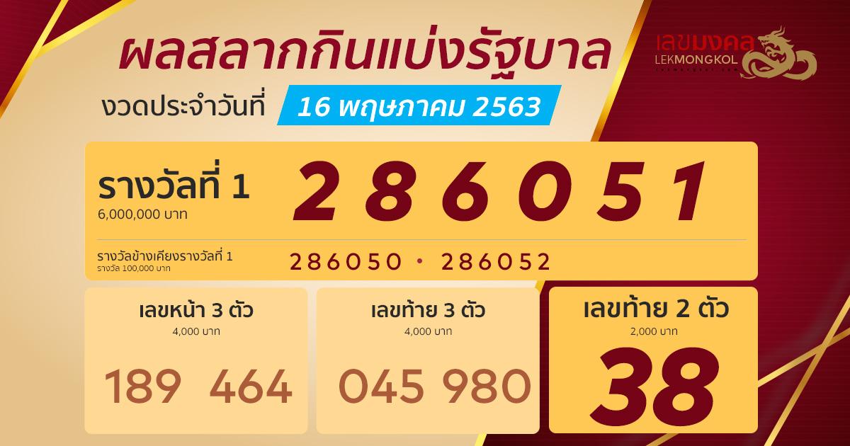 result-lotto-thai-161063