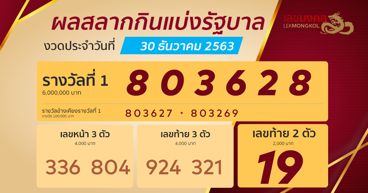 result-lotto-thai-301263
