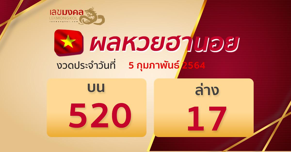 result-lotto-hanoi-050264
